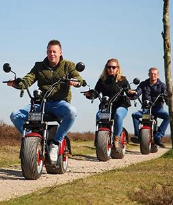 E-Chopper tour Leeuwarden